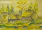 須藤満理子「毛呂山の民家」
