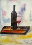 熊懐康彦「南フランスのワインラムトーン」