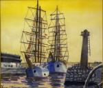 古澤成夫「帆船」