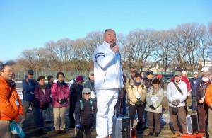 田中市長も来賓として駆けつけてくれました